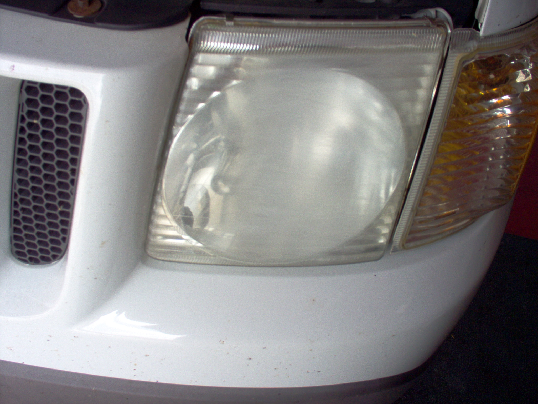 Headlight Before A2Z Automotive