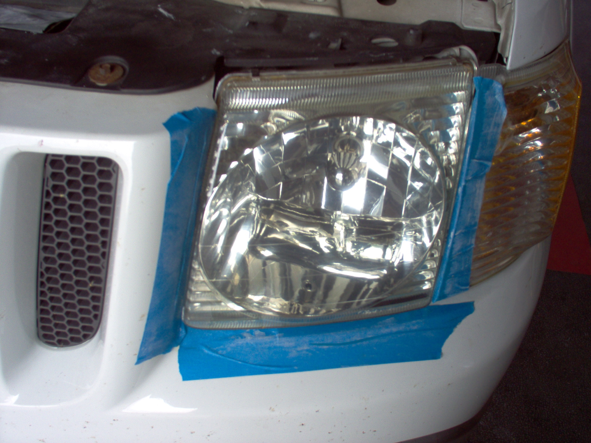 Headlight After A2Z Automotive